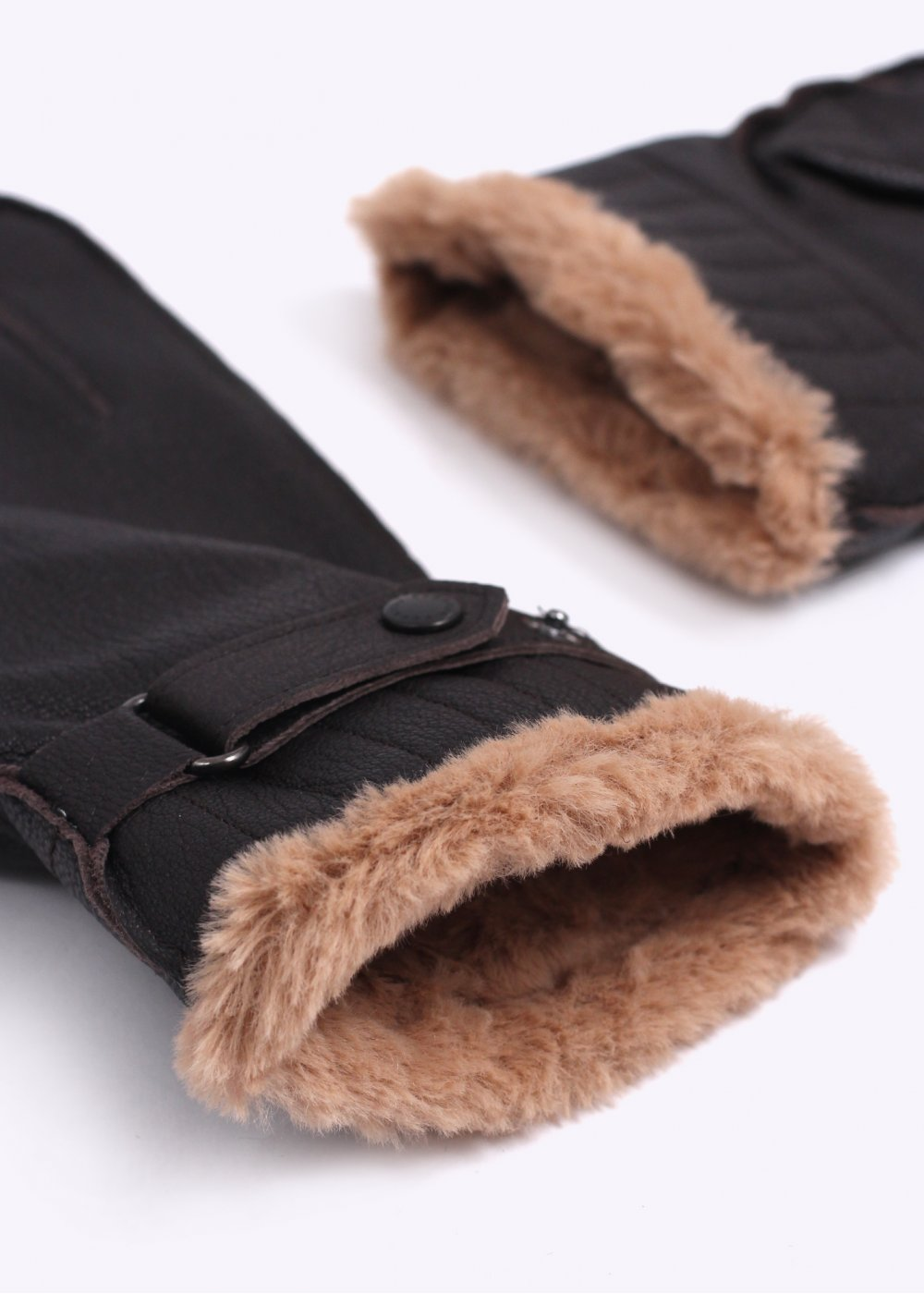 Barbour black leather utility gloves - Barbour Leather Utility Gloves Brown