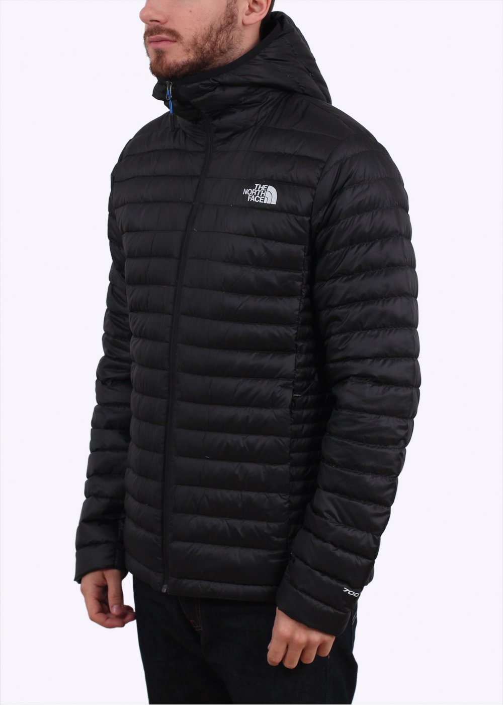 51459dacc The North Face Tonnerro Hooded Down Jacket - Black