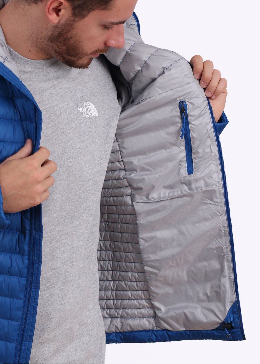 128e31732d02 THE NORTH FACE north face down jacket MENS TONNERRO JACKET mens Tonnerro  Hooded Down Jacket - Monster Blue ...