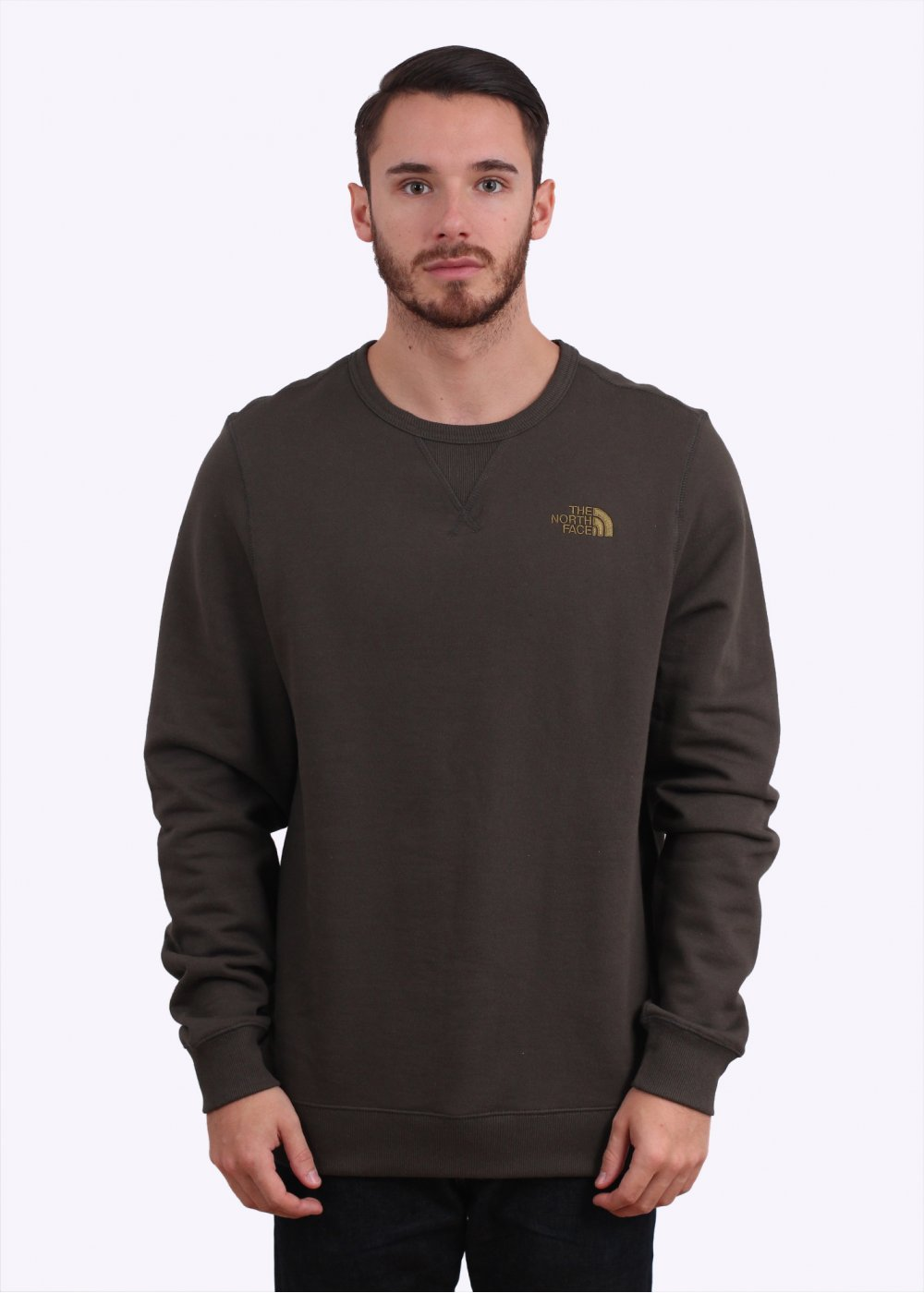 eb241856d The North Face Street Fleece Pullover Sweater - Black Ink Green