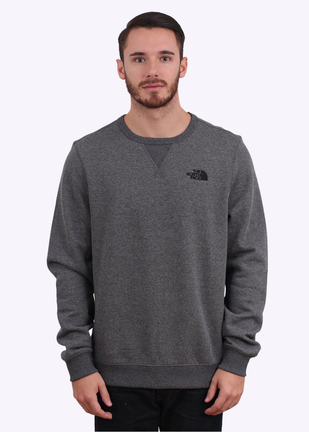 be01656b5 The North Face Street Fleece Pullover Sweater - Graphite Grey Heather