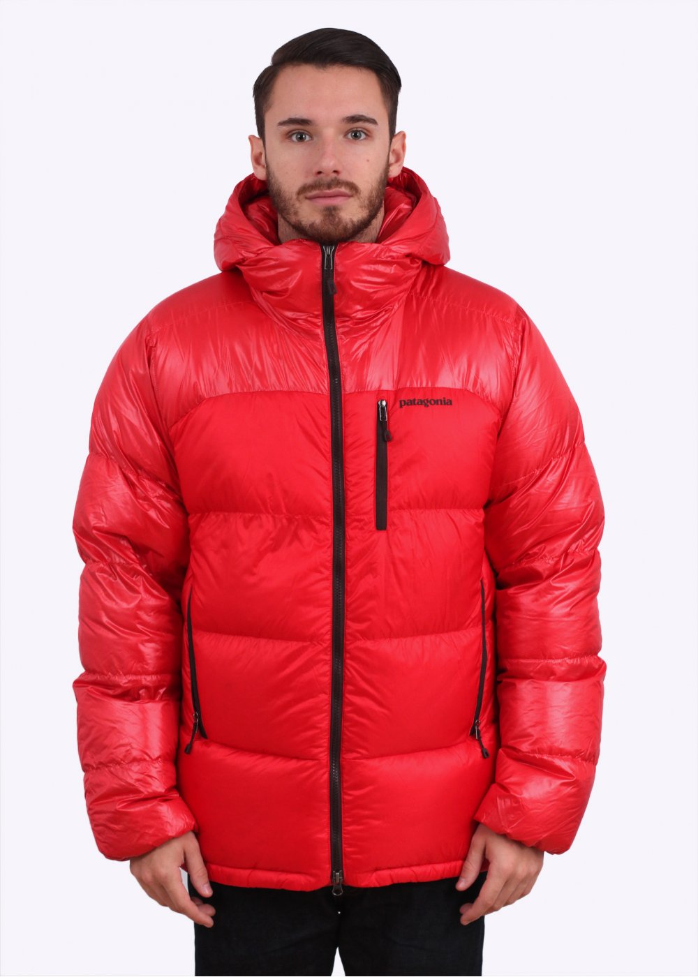 Patagonia Fitz Roy Down Parka French Red
