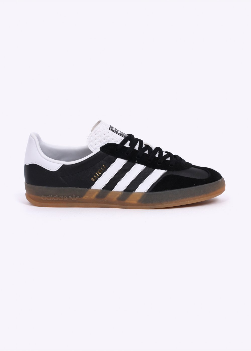 newest 56b33 63e67 Gazelle Indoor Trainers - Black  White