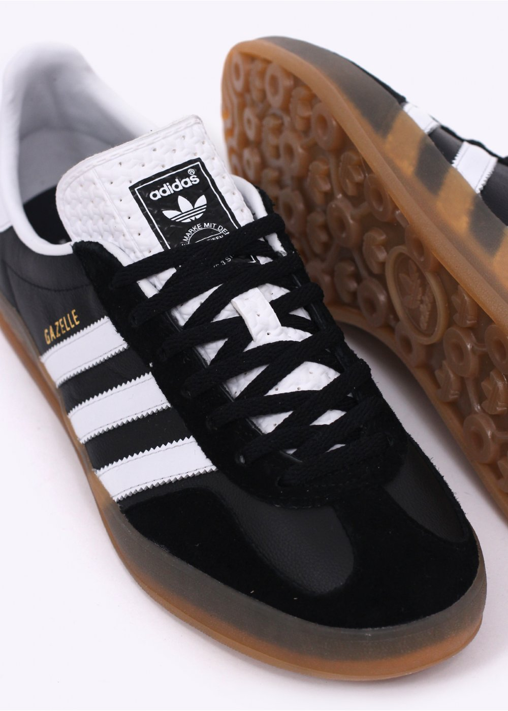 adidas Originals Footwear Gazelle Indoor Trainers Black White