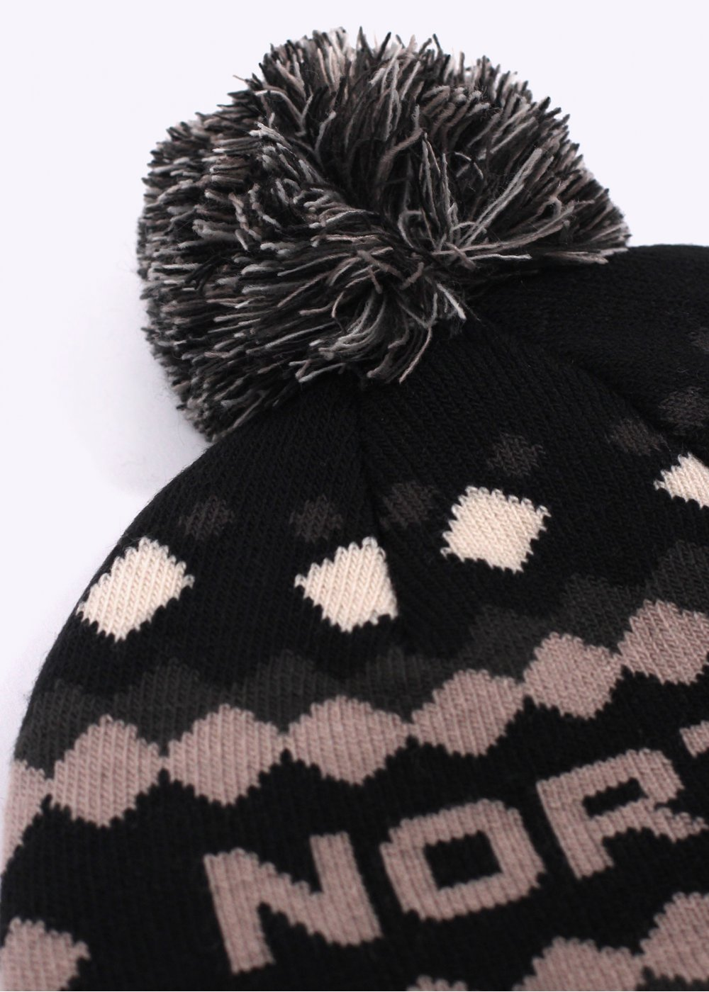 The North Face Ski Tuke V Bobble Beanie Hat - Black 8c458c119af