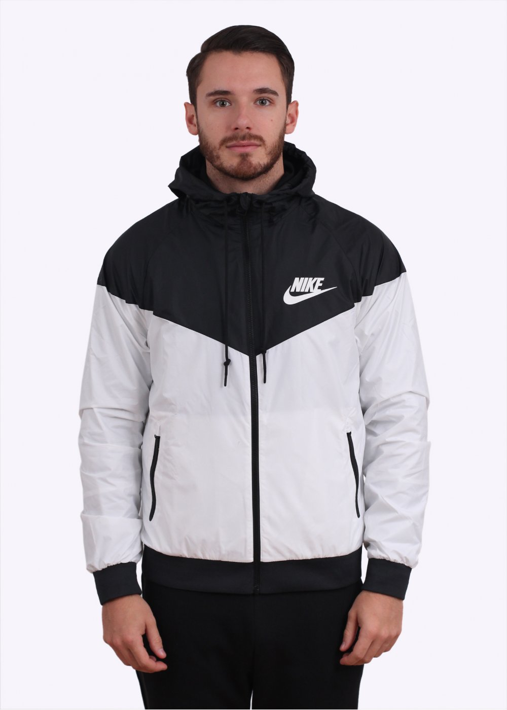 new concept 163f4 72611 Windrunner Jacket - White Black