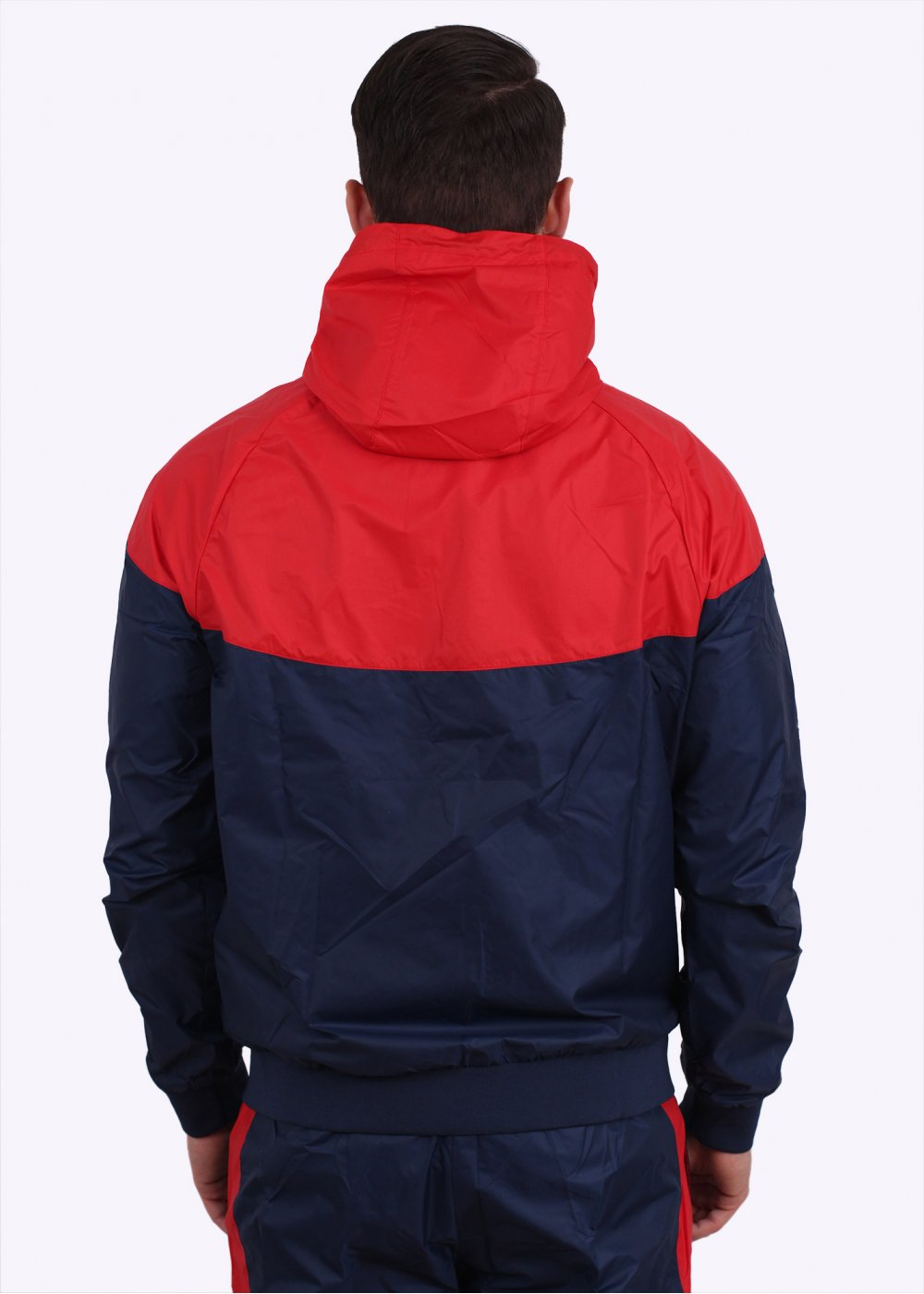 Nike Apparel Windrunner Tracksuit Navyred Triads Mens From