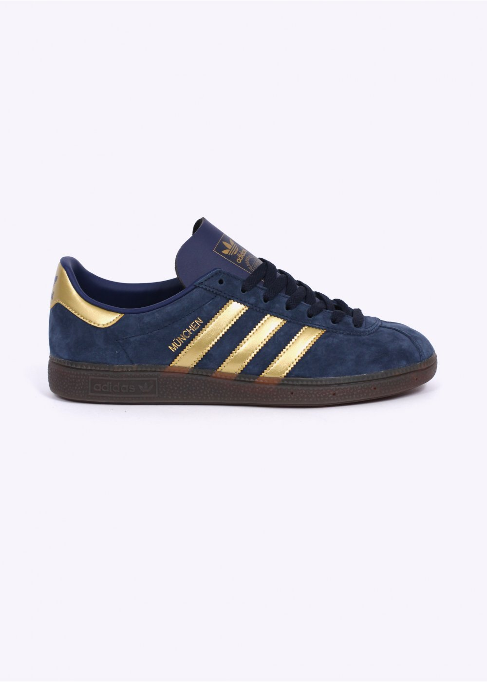 adidas Originals Spezial Munchen Trainers Collegiate Navy Gold
