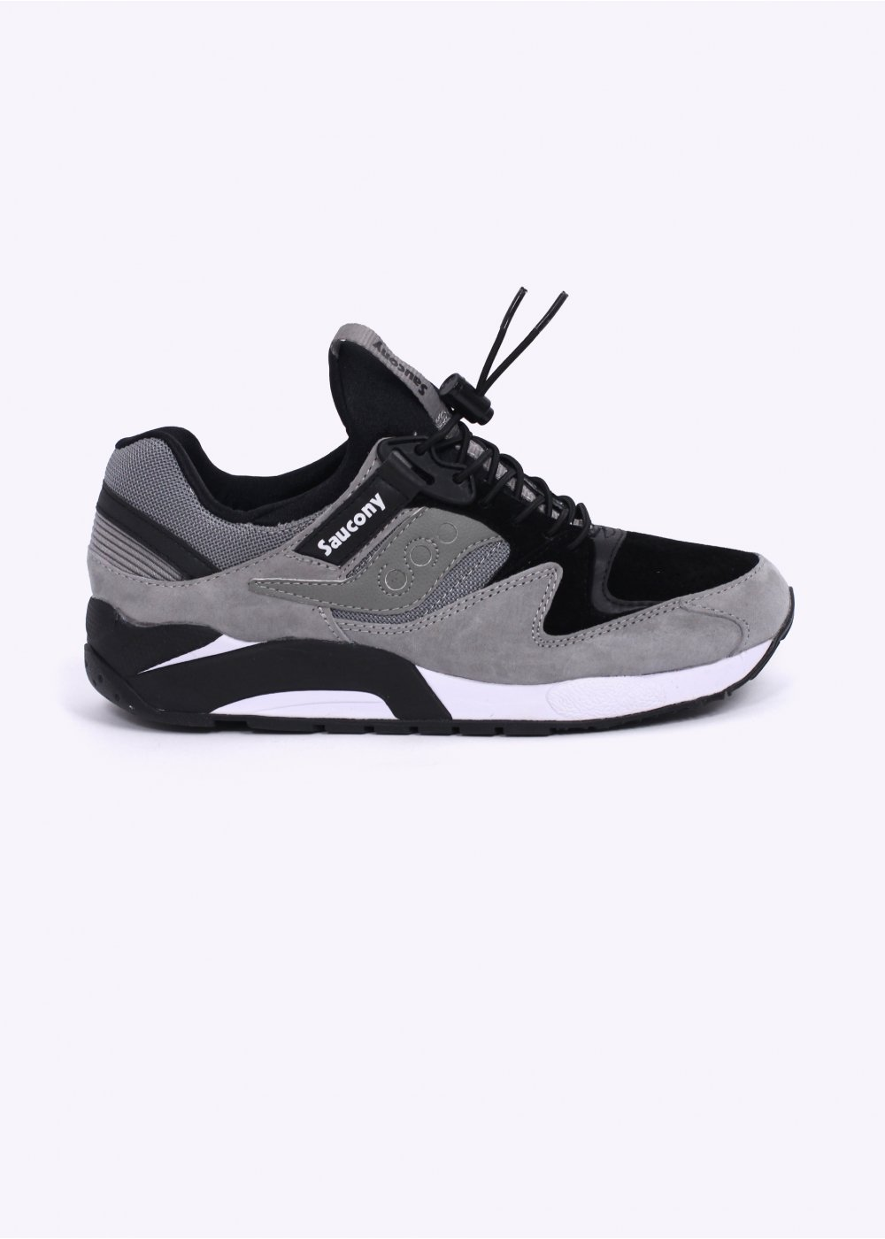 25b43e3ae57c Grid 9000  quot Bungee quot  Trainers - Grey Black