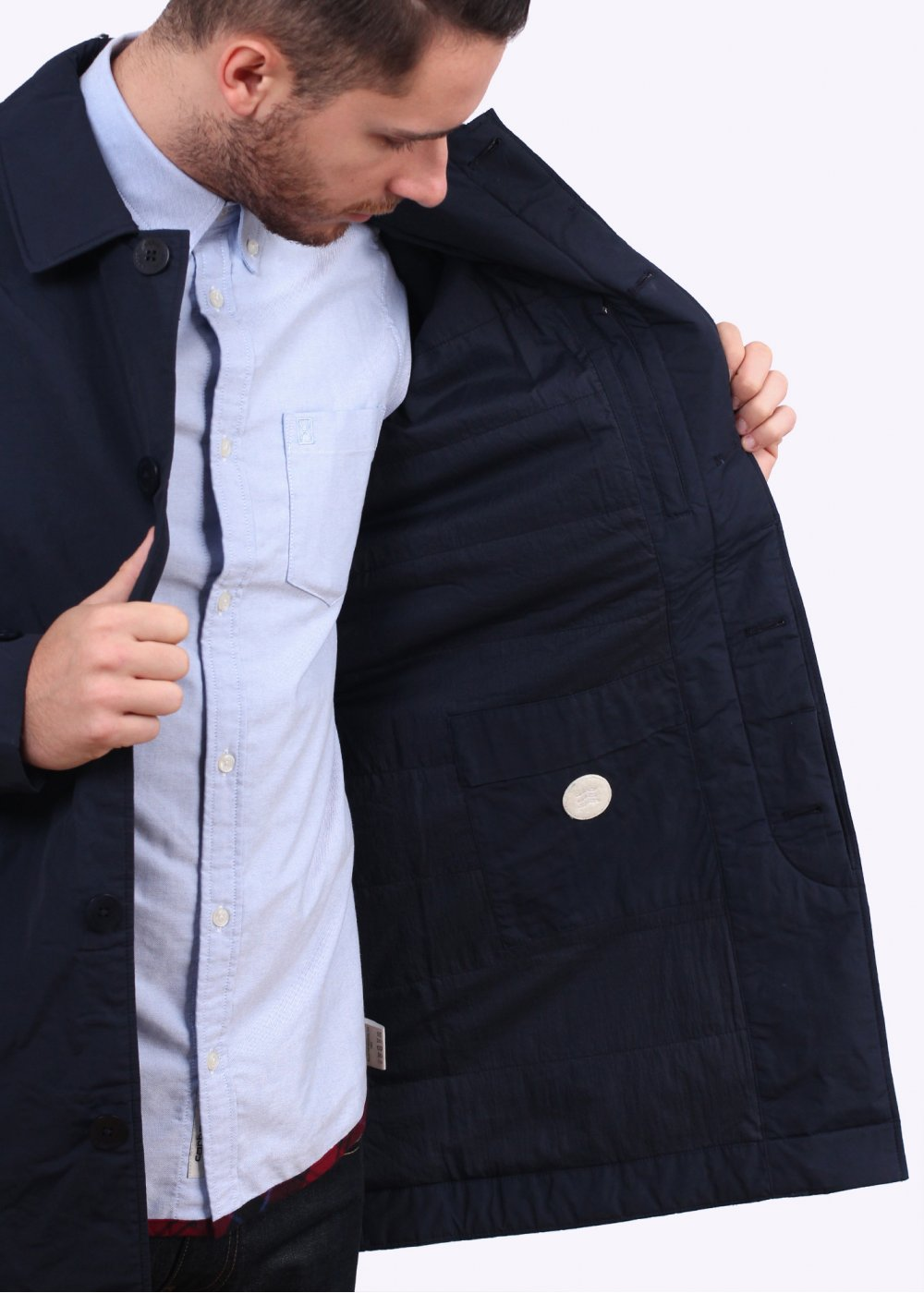 01082a11d Norse Projects Thor Light Winter Jacket - Navy