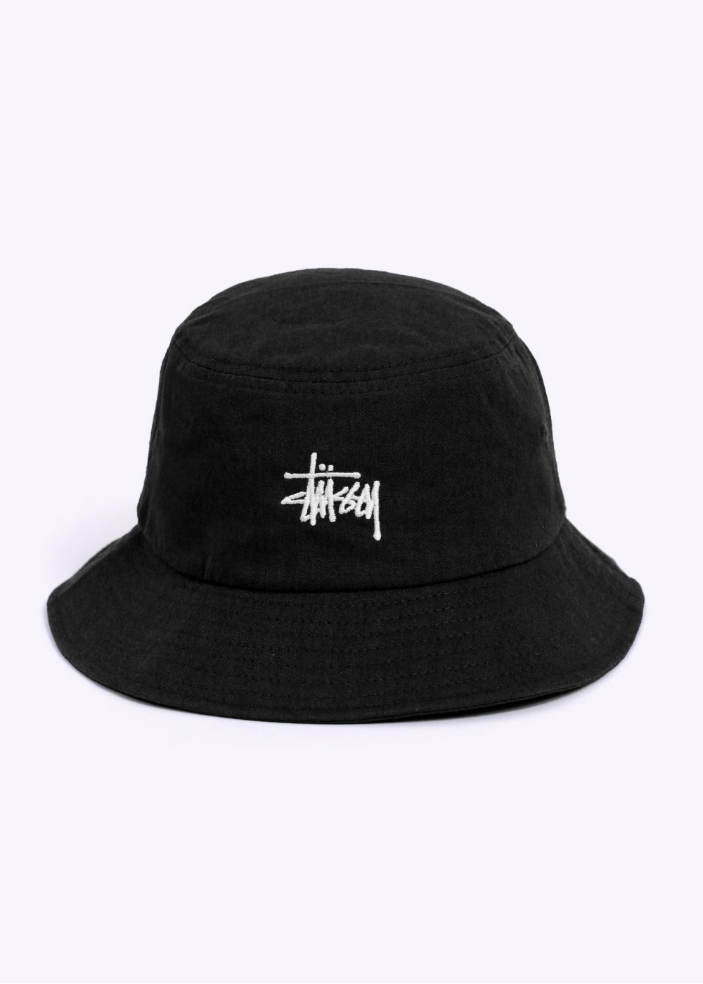 Stussy Herringbone Bucket Hat - Black f8807219164