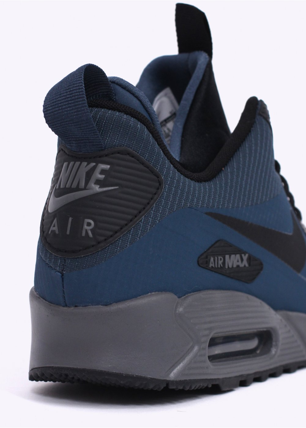 05278fd0809 Nike Air Max 90 Mid Winter Sneakerboots - Squadron Blue   Black