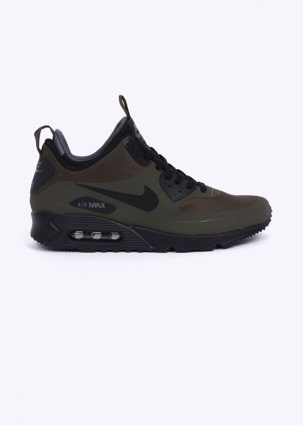 Nike Footwear Air Max 90 Mid Winter Sneakerboots Dark Loden Black