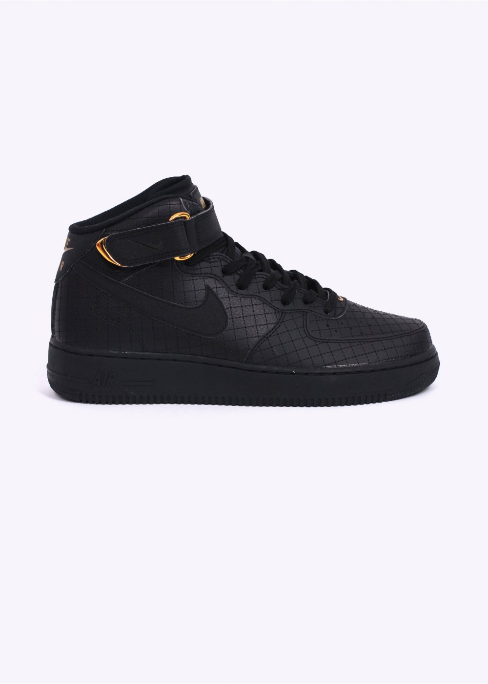 Air Force 1 Mid '07 LV8 Trainers - Black / Black