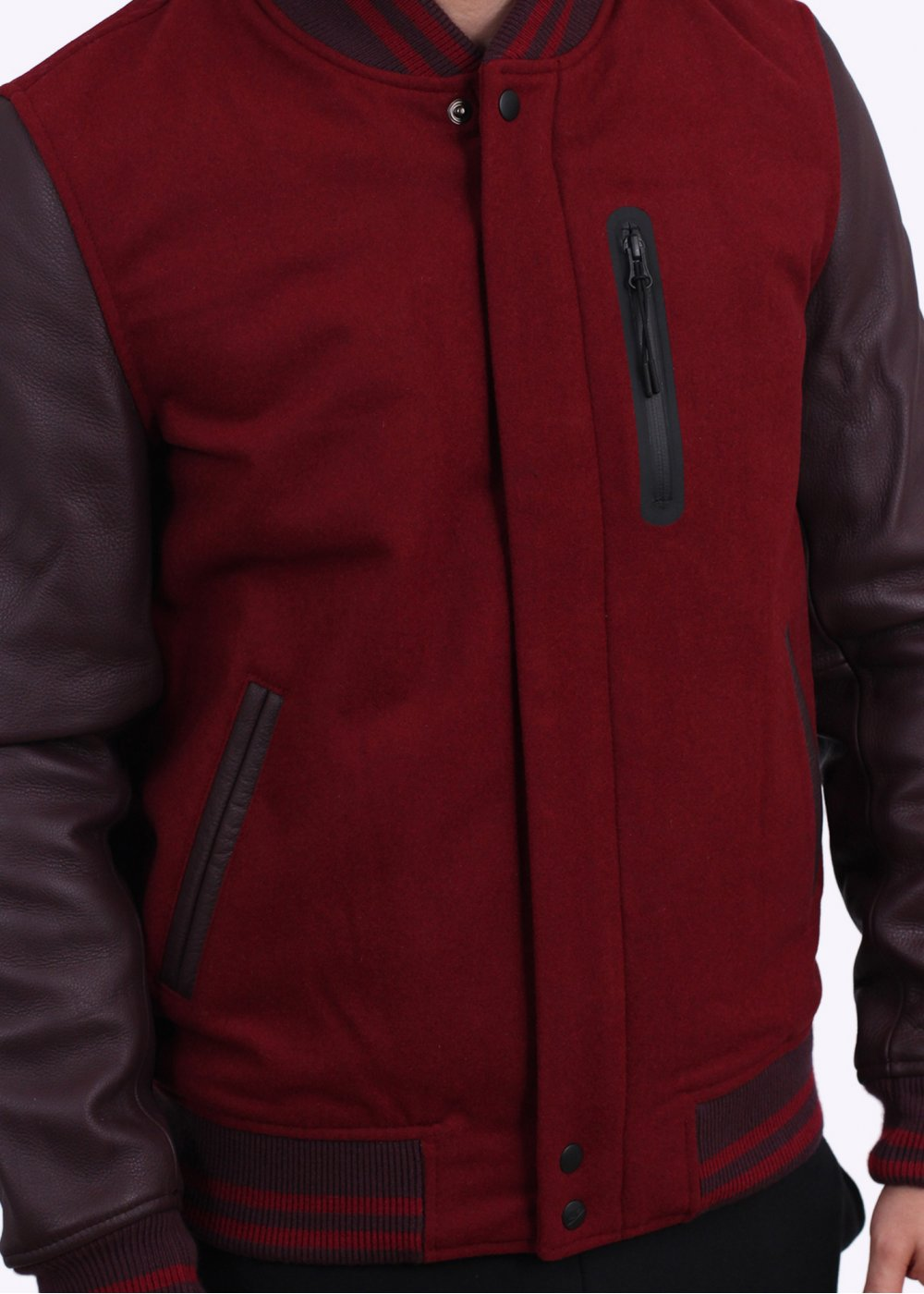 Nike Destroyer Jacket - Team Red Heather   Deep Burgundy d5cc087aa