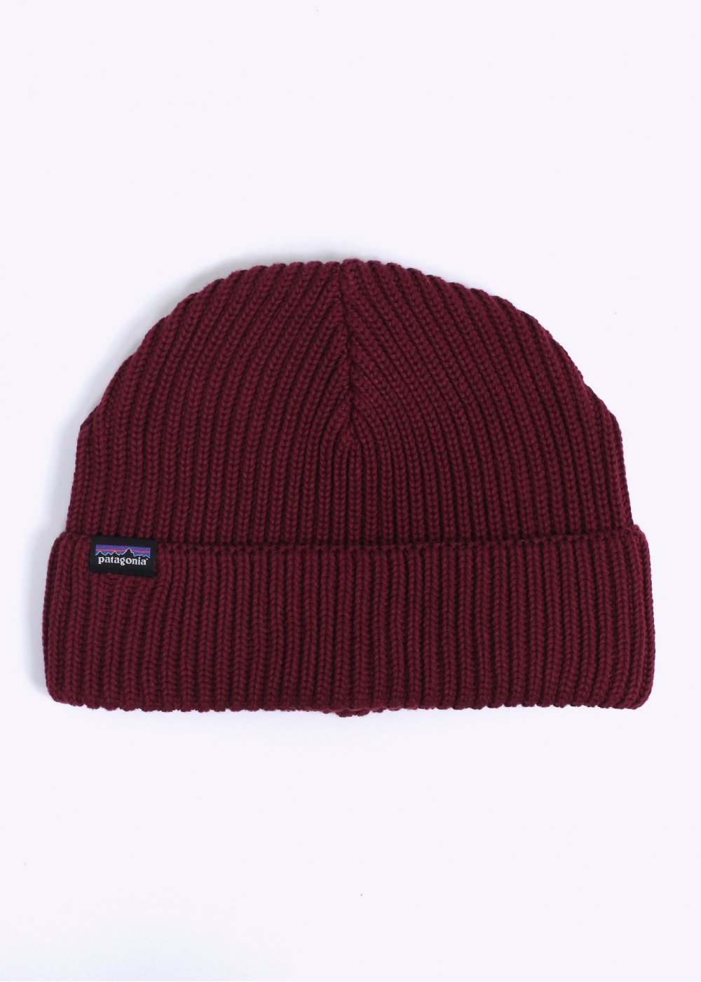 1613d8636ea Patagonia Fishermans Rolled Beanie - Oxblood Red