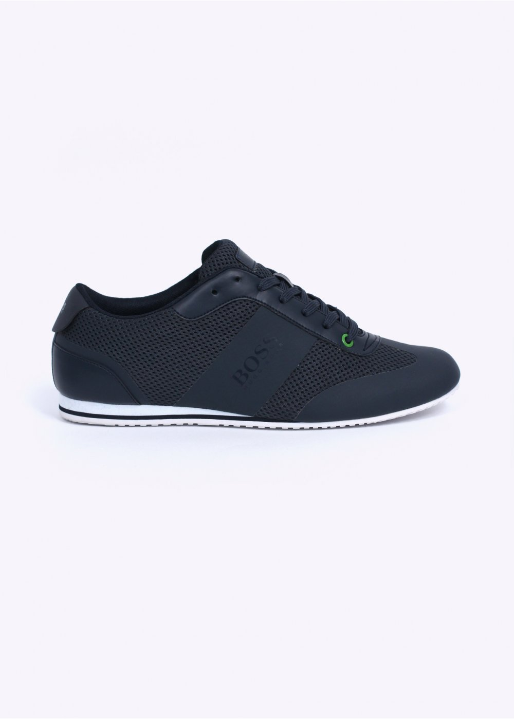 dirt cheap look for a great variety of models Hugo Boss Footwear / Boss Green - Light Air Trainers - Navy Blue