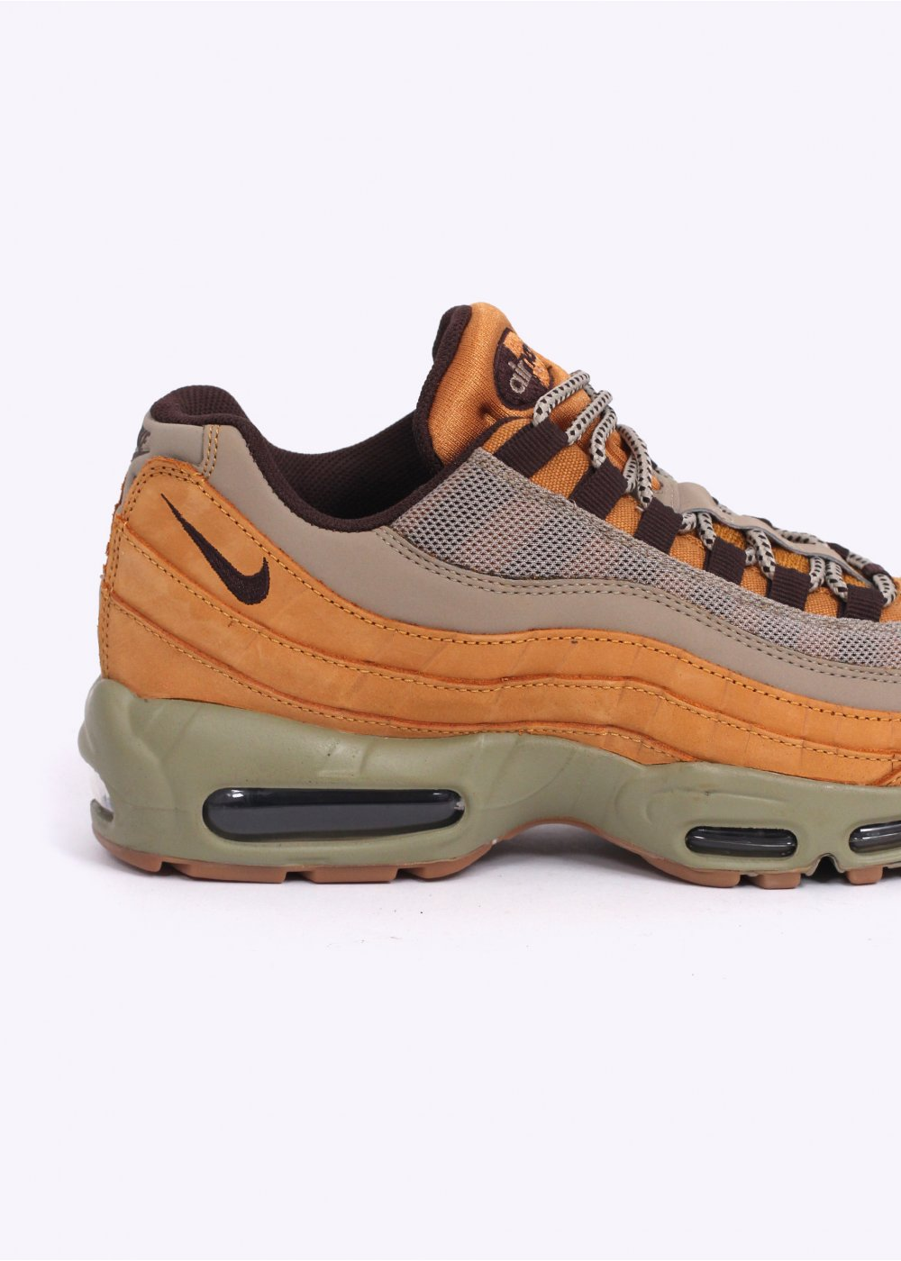 authentic factory price half off Nike Footwear Air Max 95 Premium 'Wheat' Trainers - Bronze / Baroque Brown  / Bamboo