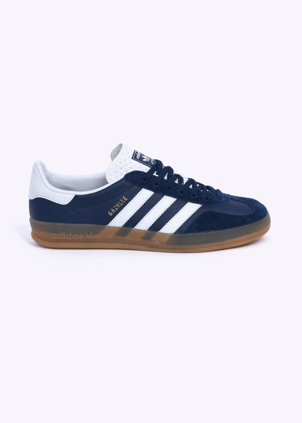 adidas Originals Gazelle Indoor Trainers - Oxford Blue   White   Gum f9c1db57f