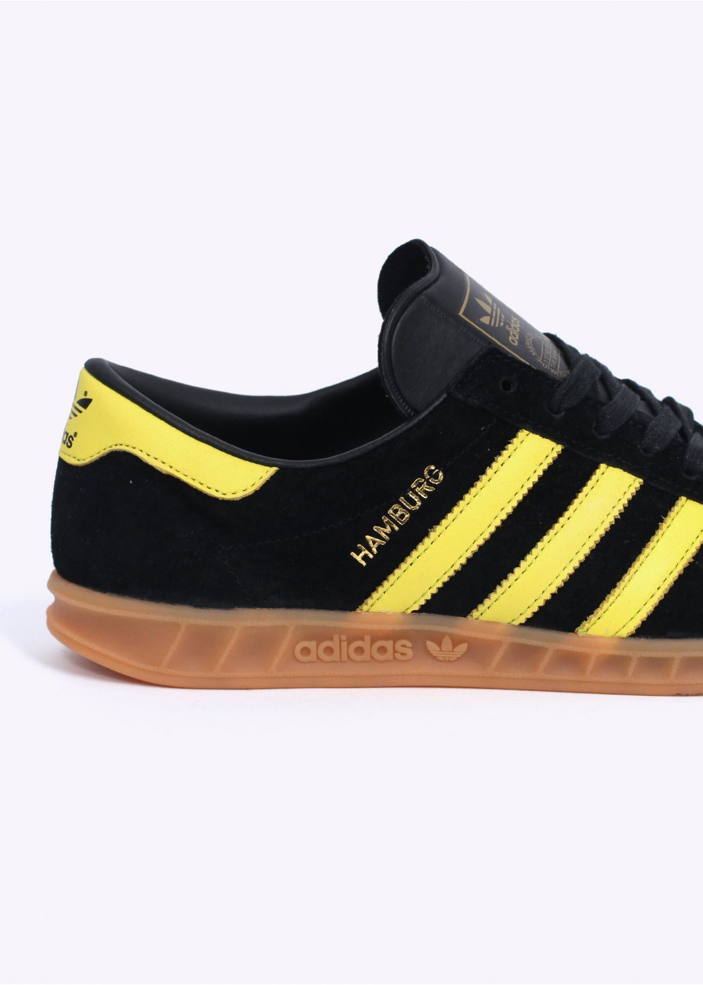 adidas Originals Footwear Hamburg 'Oslo' Trainers Black Lemon