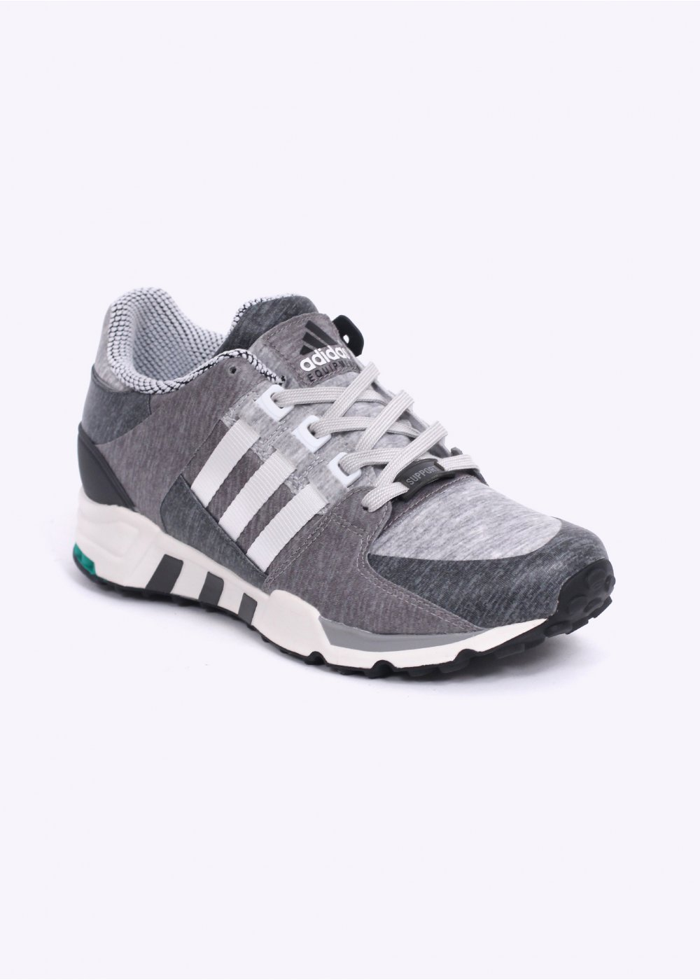 premium selection d5318 4fc24 adidas Originals Footwear EQT Equipment Running Support 93 'Portland'  Trainers - Core Heather / Vintage White