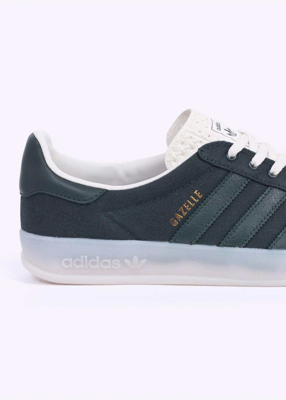 lowest price great quality casual shoes adidas Originals Footwear Gazelle Indoor Trainers - Mineral Green