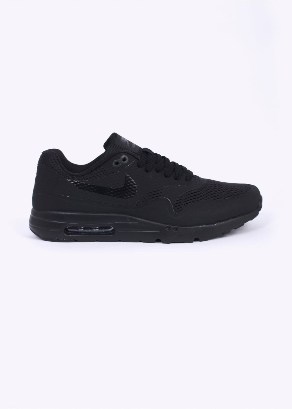 first rate 5a1a1 f38a4 Nike Air Max 1 Ultra Essential Trainers - Black