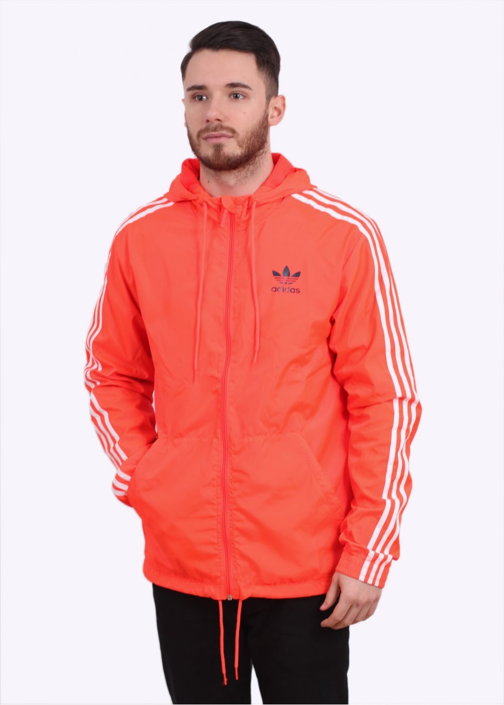 Solar Itasca Apparel Originals Red Adidas Windbreaker W2EHID9
