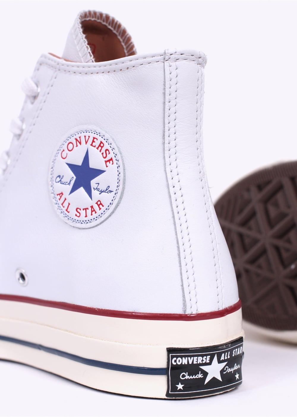 dba4088d70df Converse Chuck Taylor All Star Leather - White   Egret