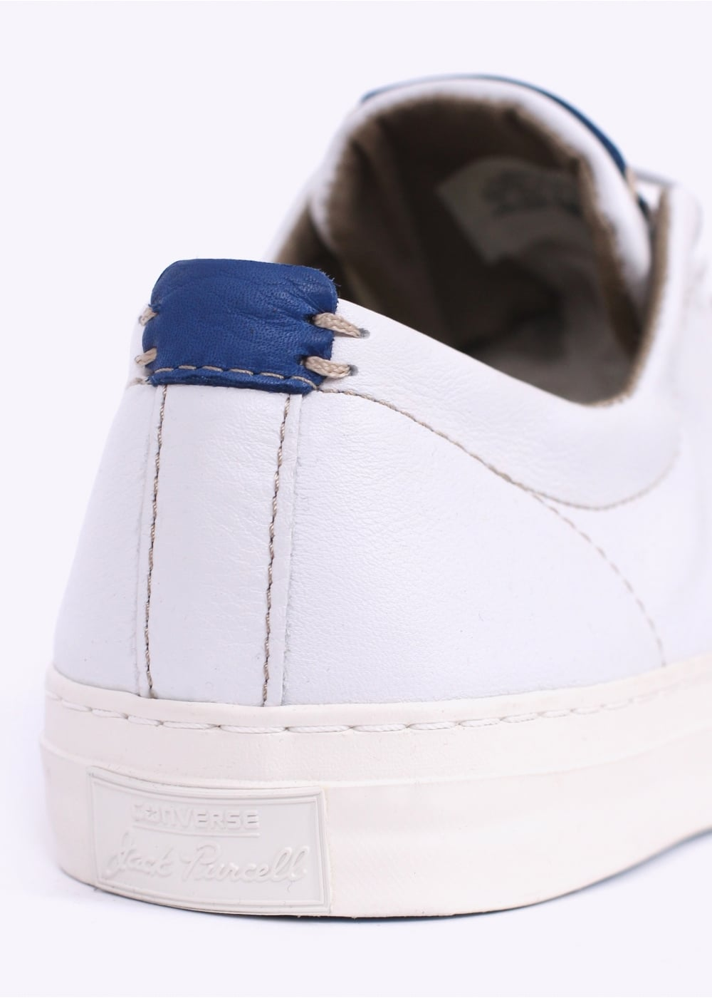 1a8b6af6806101 Converse Jack Purcell Ox Tumbled Leather - White   Egret