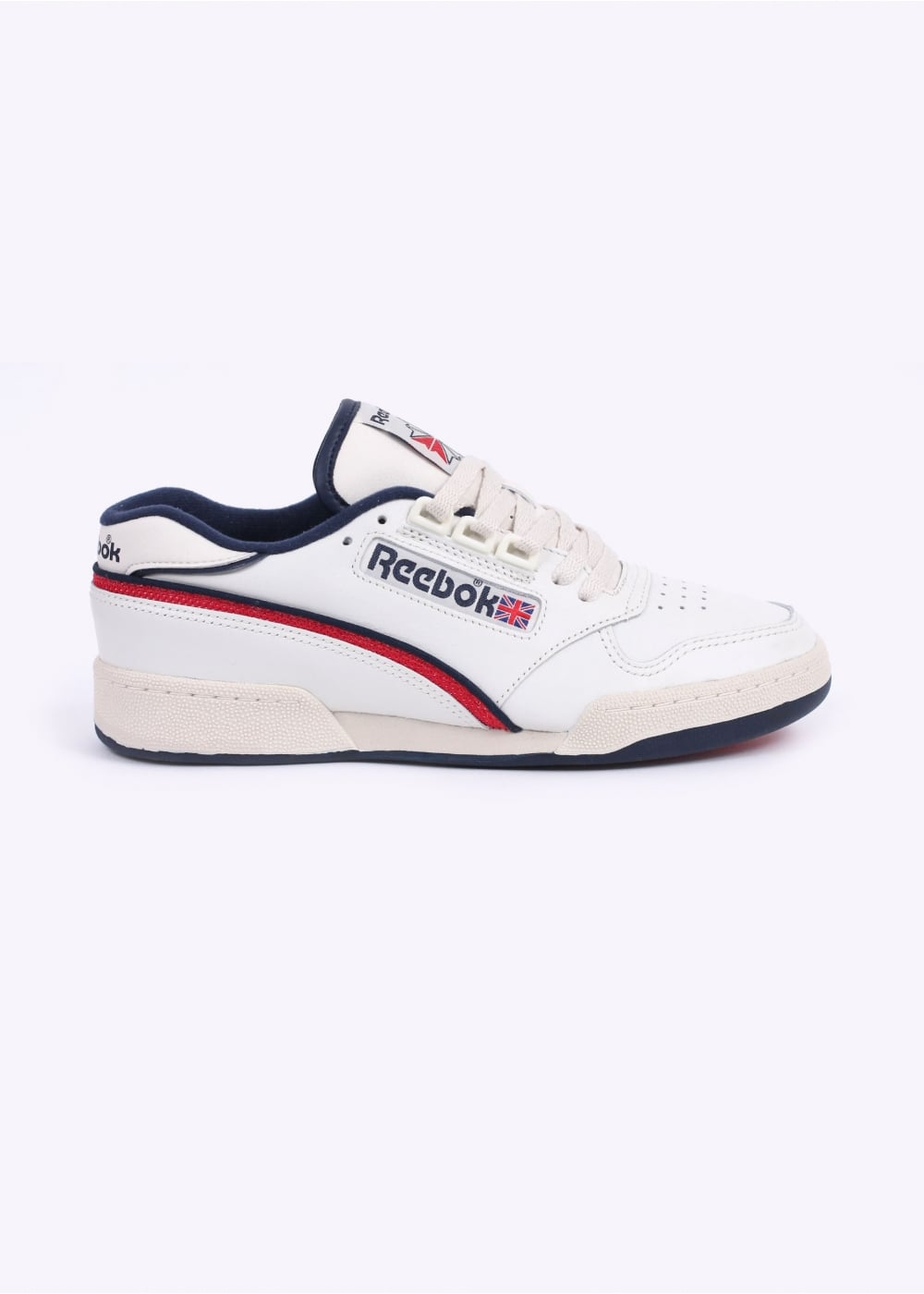 c0e39c27c380 Reebok Act 600 85 Trainers - Chalk   PaperWhite   Excellent Red   Navy