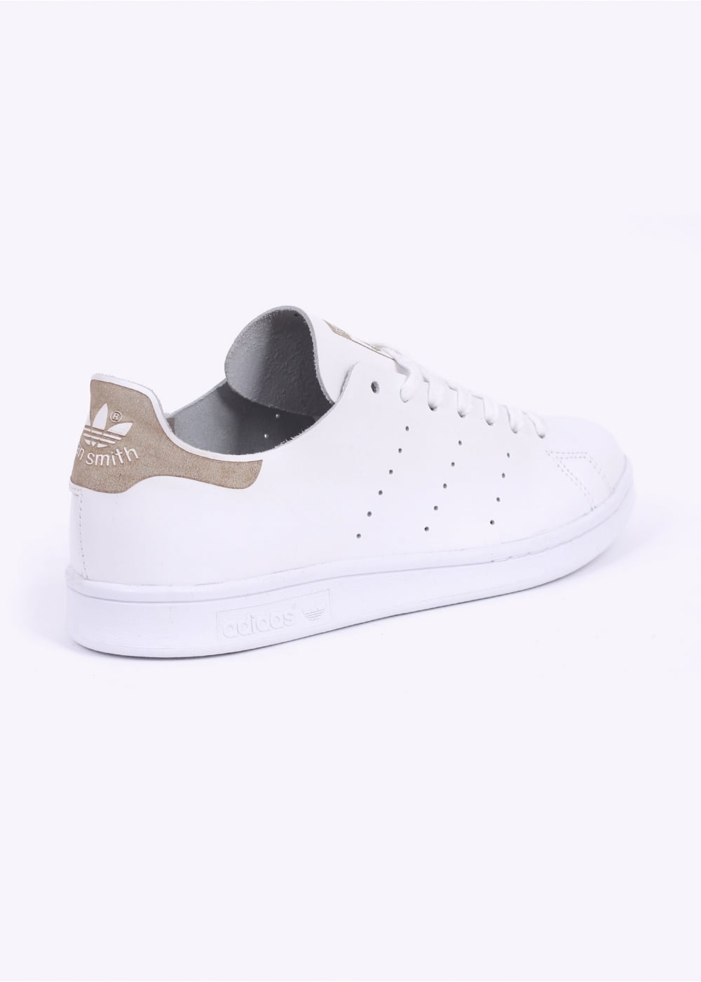 sports shoes 8862f 1c30c adidas Originals Footwear Stan Smith Deconstructed Trainers - White / Light  Brown