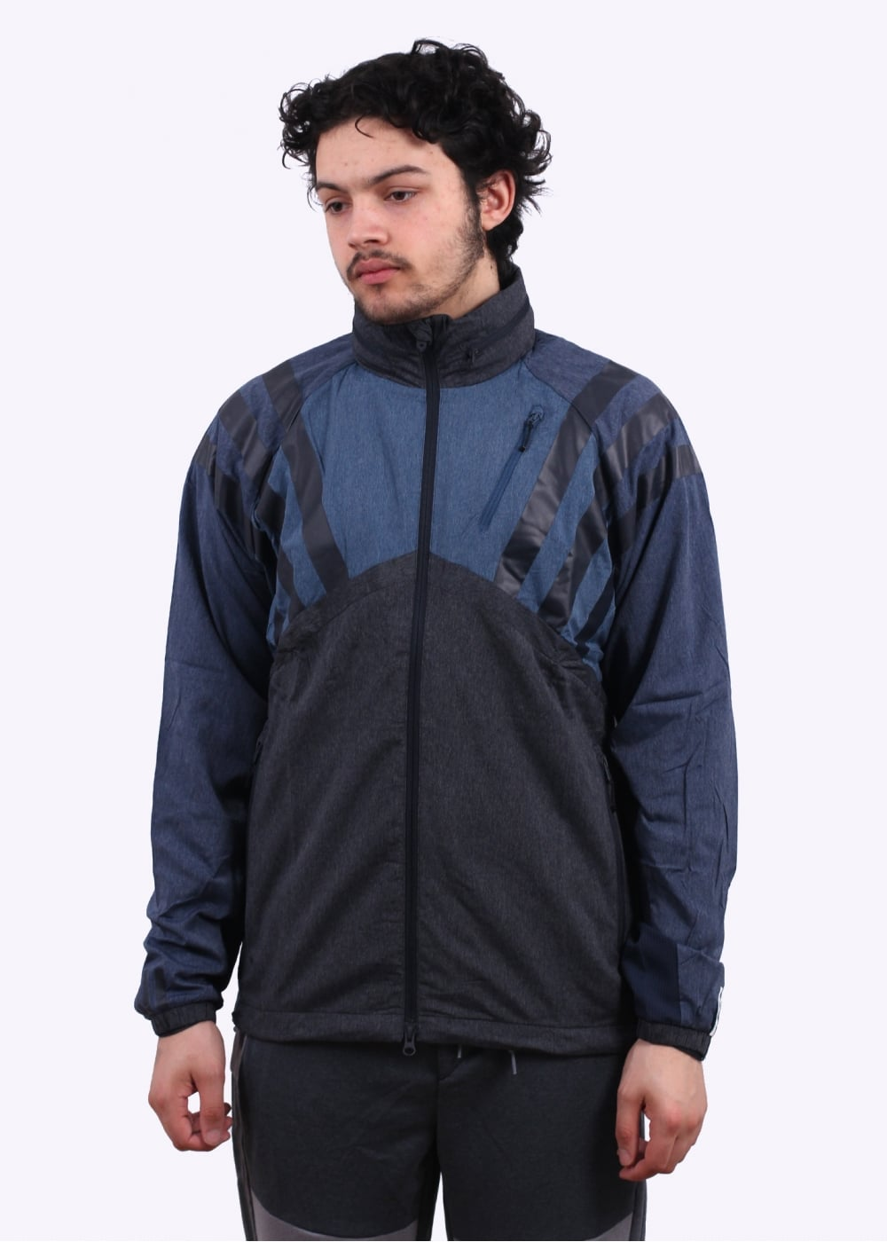 1769ea382b56 adidas Originals x White Mountaineering Windbreaker - Navy