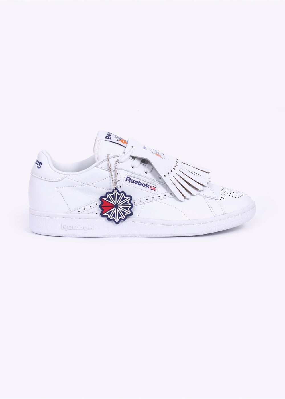 Reebok x Beams NPC UK Trainers - White   Phantom Blue   Red aa952c01ab