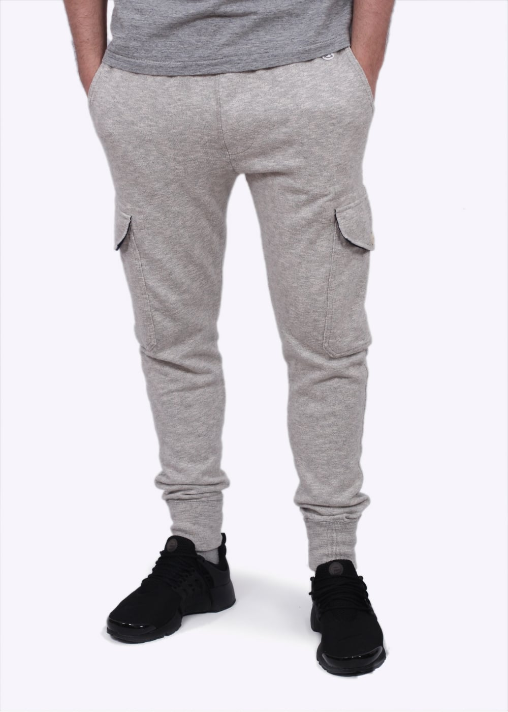huge sale clear-cut texture authentic Champion x Todd Snyder Cargo Sweatpants - Grey Heather