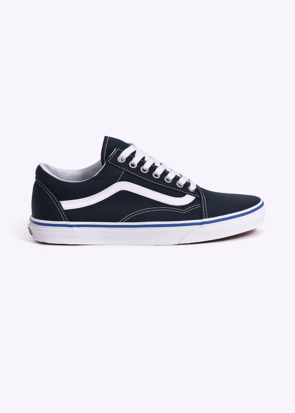 e7d48935fe36 Vans Old Skool - Midnight Navy - Trainers from Triads UK