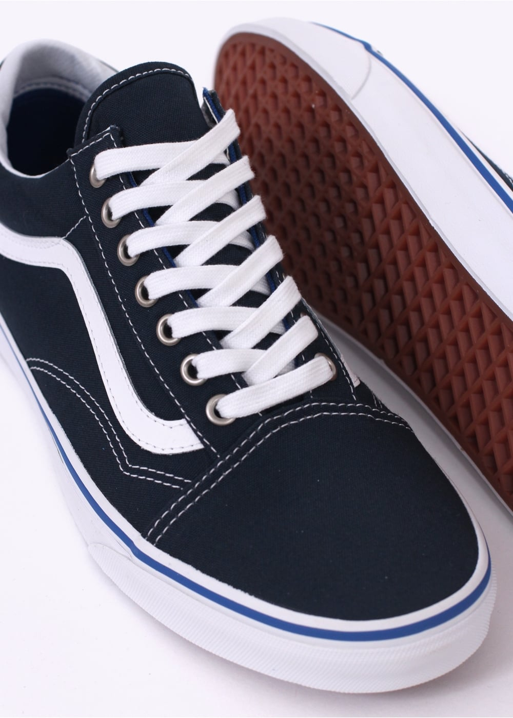 Vans Old Skool - Midnight Navy - Trainers from Triads UK 348d094814b2