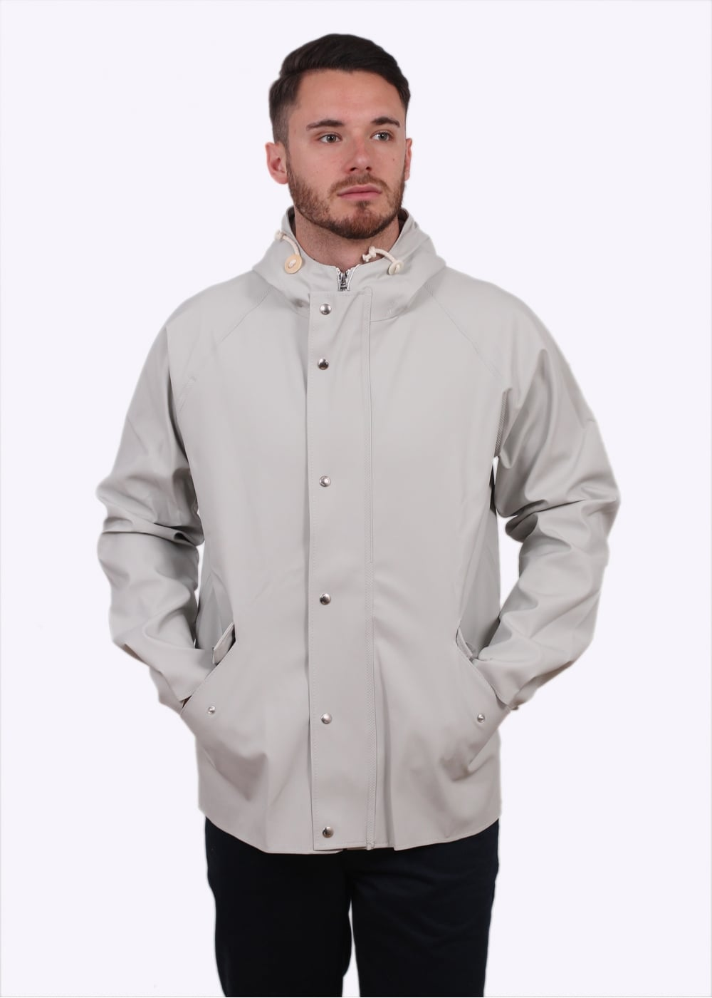 cf65a6943f1 Norse Projects x Elka Anker Classic Jacket - Clay - Jackets from ...