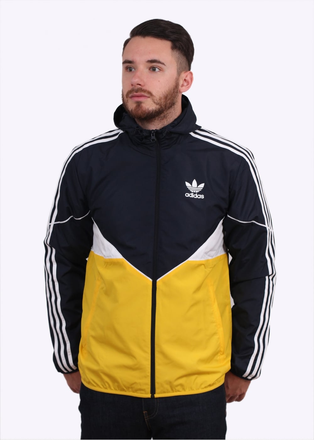 9b1e3a9f3 adidas Originals Apparel CRDO Windbreaker - Legend Ink - Triads Mens ...