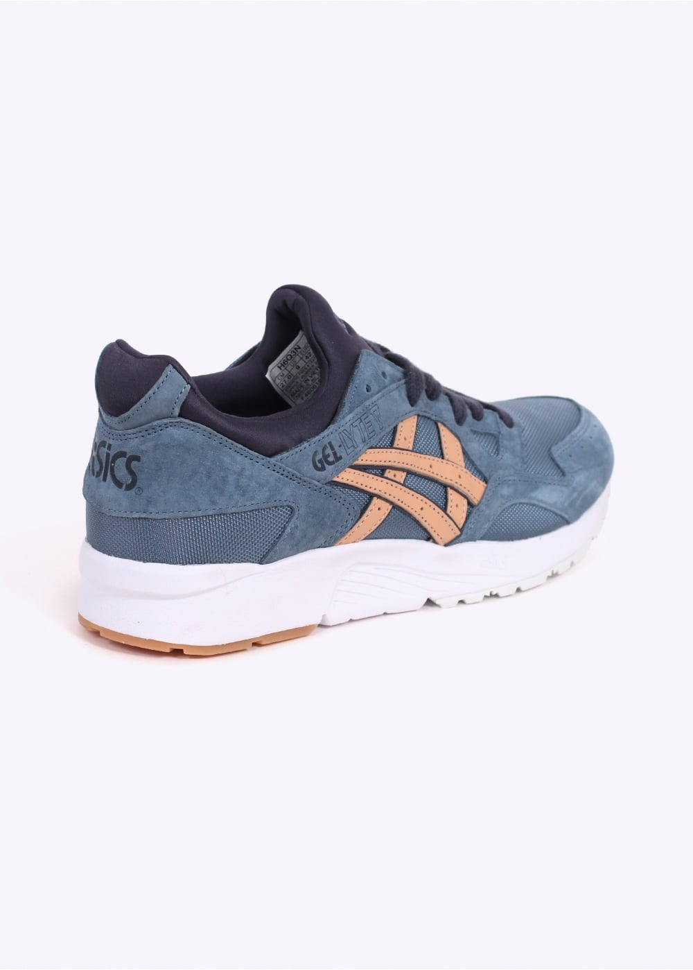 new concept c9649 acaba Gel Lyte V - Blue Mirage / Sand