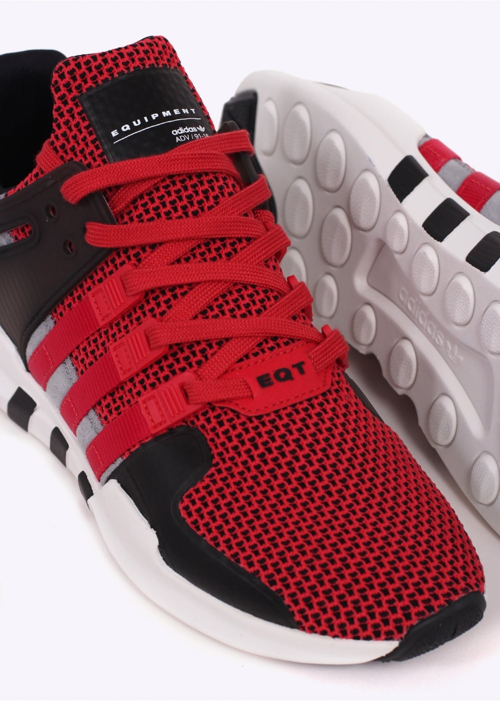 newest collection fa412 0871a adidas Originals Footwear Equipment Support ADV Textile - Collegiate Red /  Black