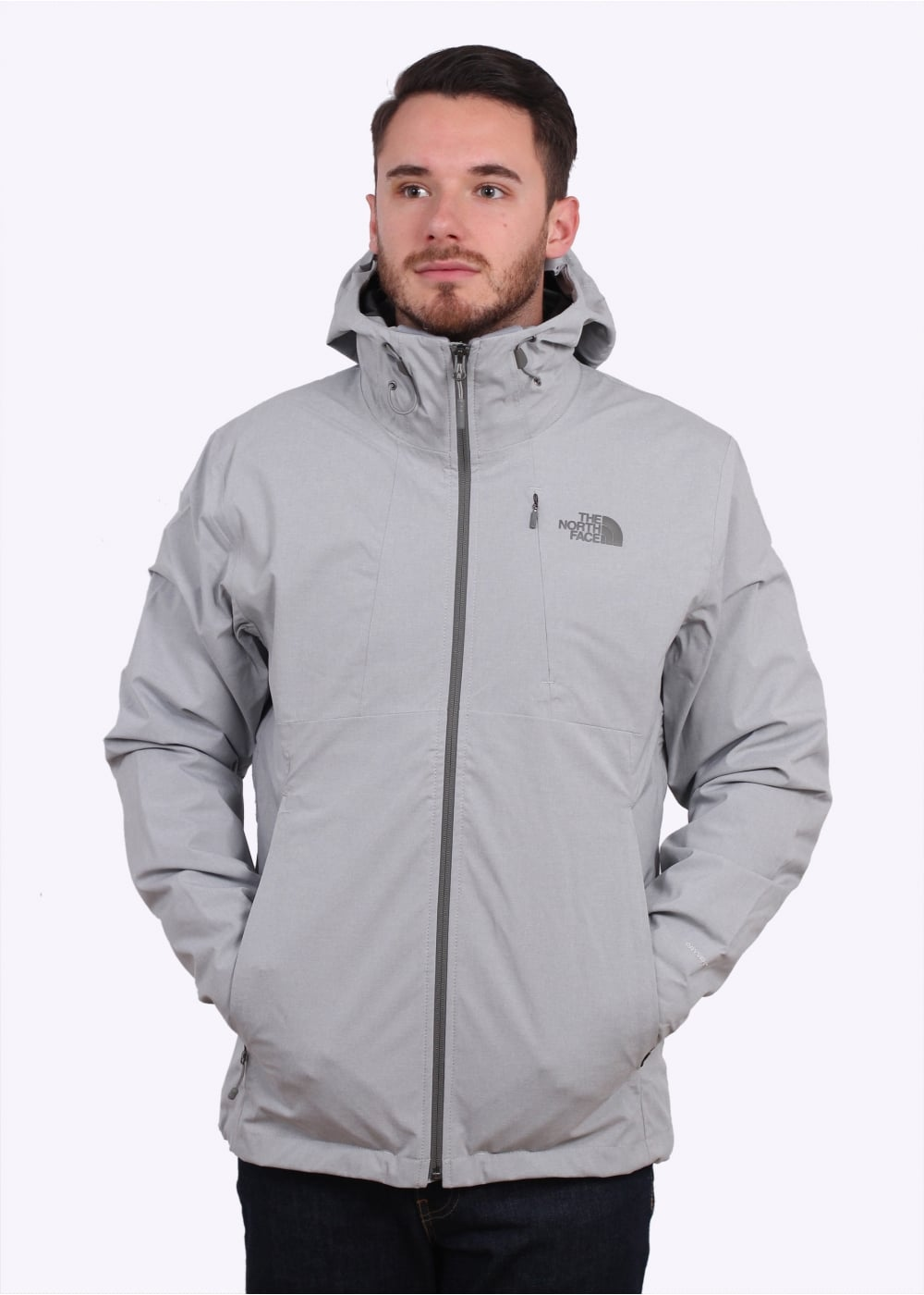 e264b2bd6ec5 The North Face Thermoball Tri 2in1 Jacket - Light Grey - Triads Mens ...