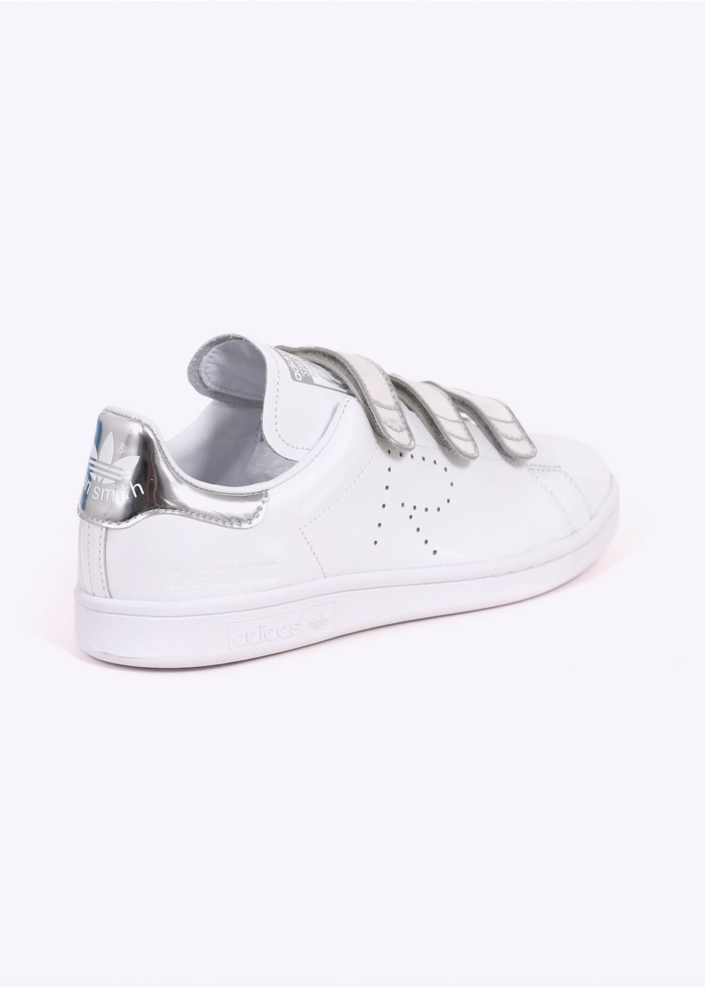 0bd08e5bb0e adidas by Raf Simons Stan Smith Comfort - White Silver - Trainers ...