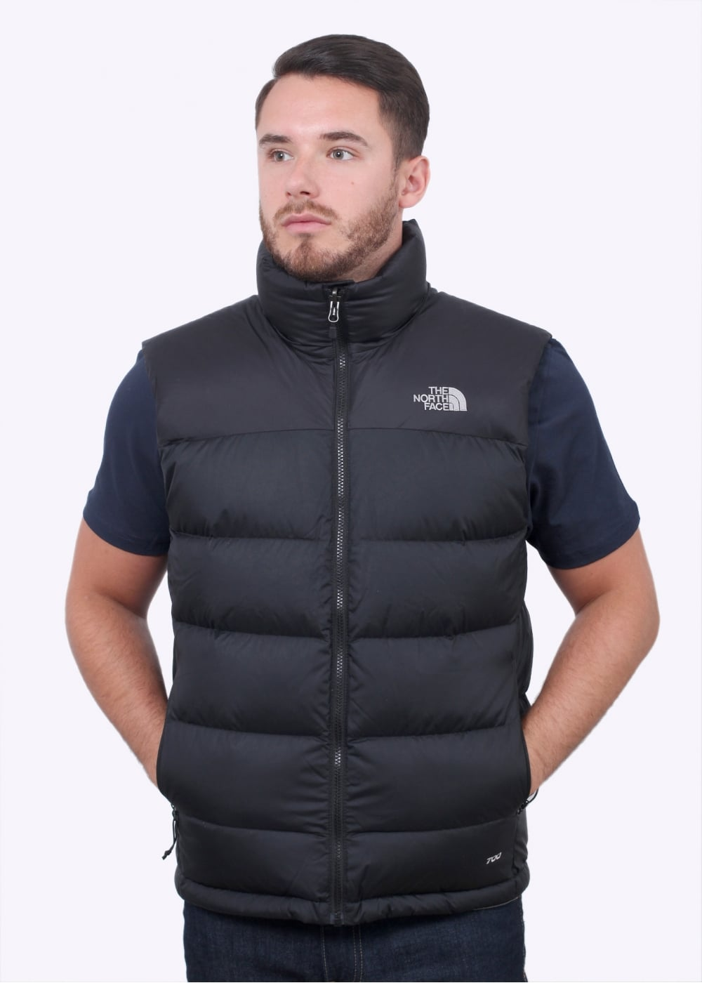 b03e34cfa429 The North Face Nuptse 2 Vest - Black - Gilets from Triads UK