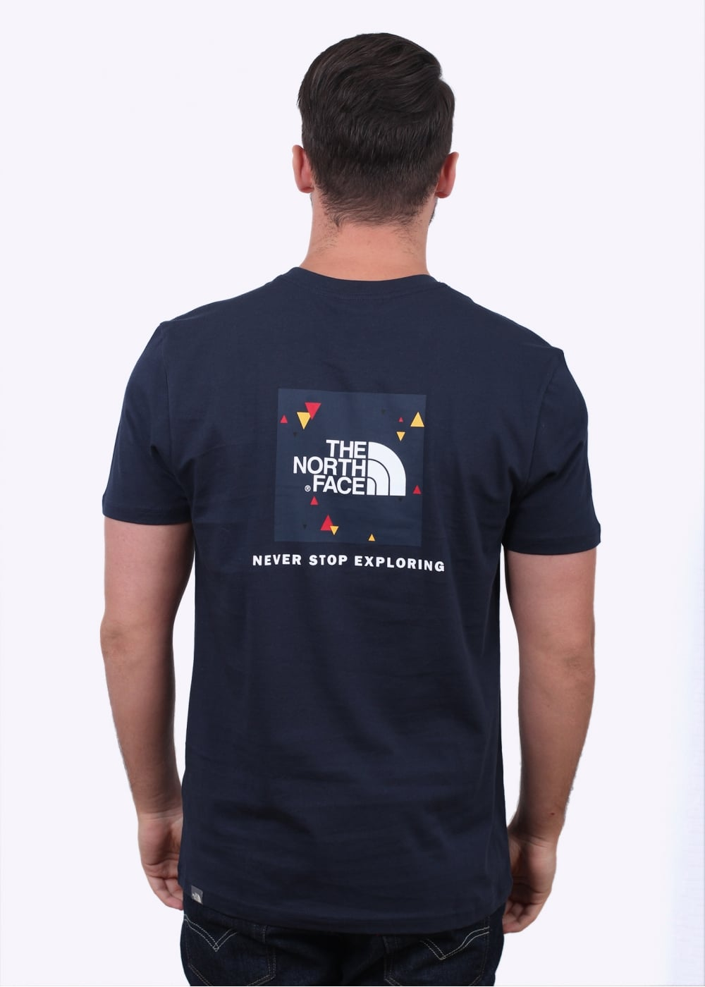 acbff30da The North Face SS Red Box Tee - Navy - T-shirts from Triads UK