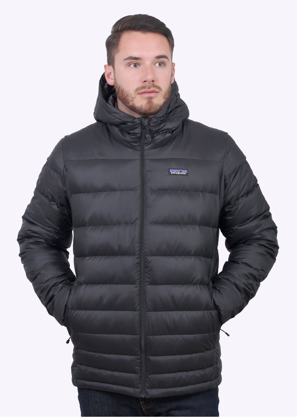 Patagonia Hi Loft Down Hoody Black Jackets From Triads Uk