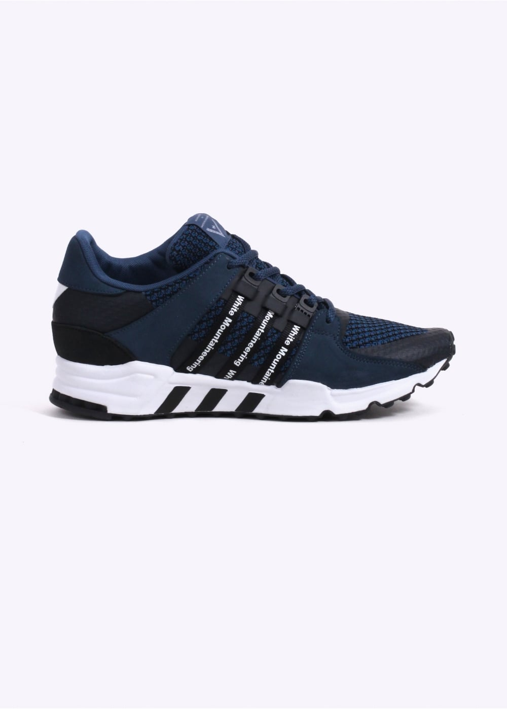 check out 9543b 69ac2 adidas Originals Apparel x White Mountaineering EQT Running - Night Marine