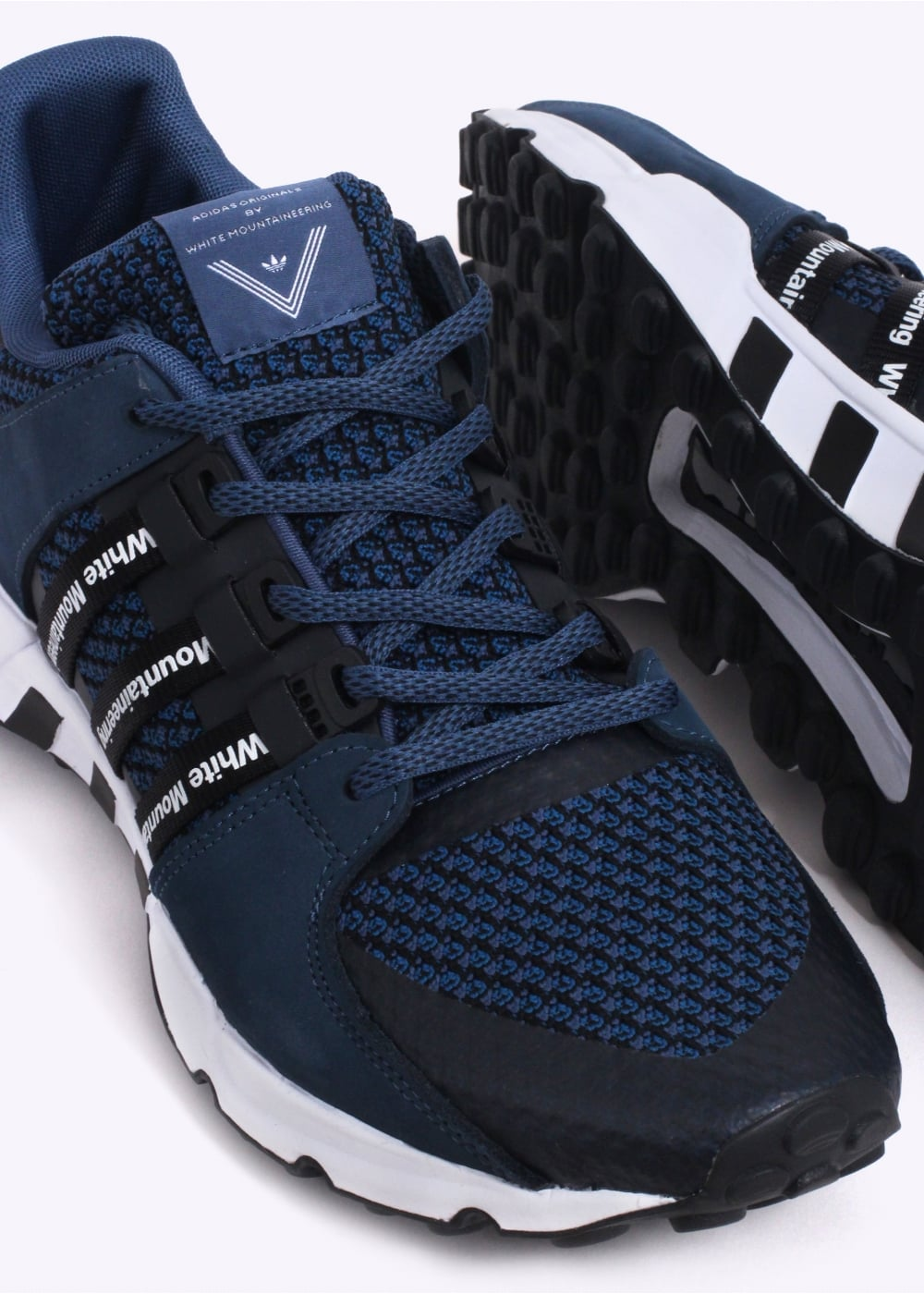 check out c5ceb 16d29 adidas Originals Apparel x White Mountaineering EQT Running - Night Marine