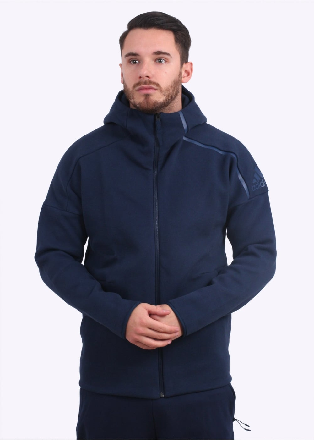 Hoody Navy Apparel Originals Adidas Zne b6gf7Yy