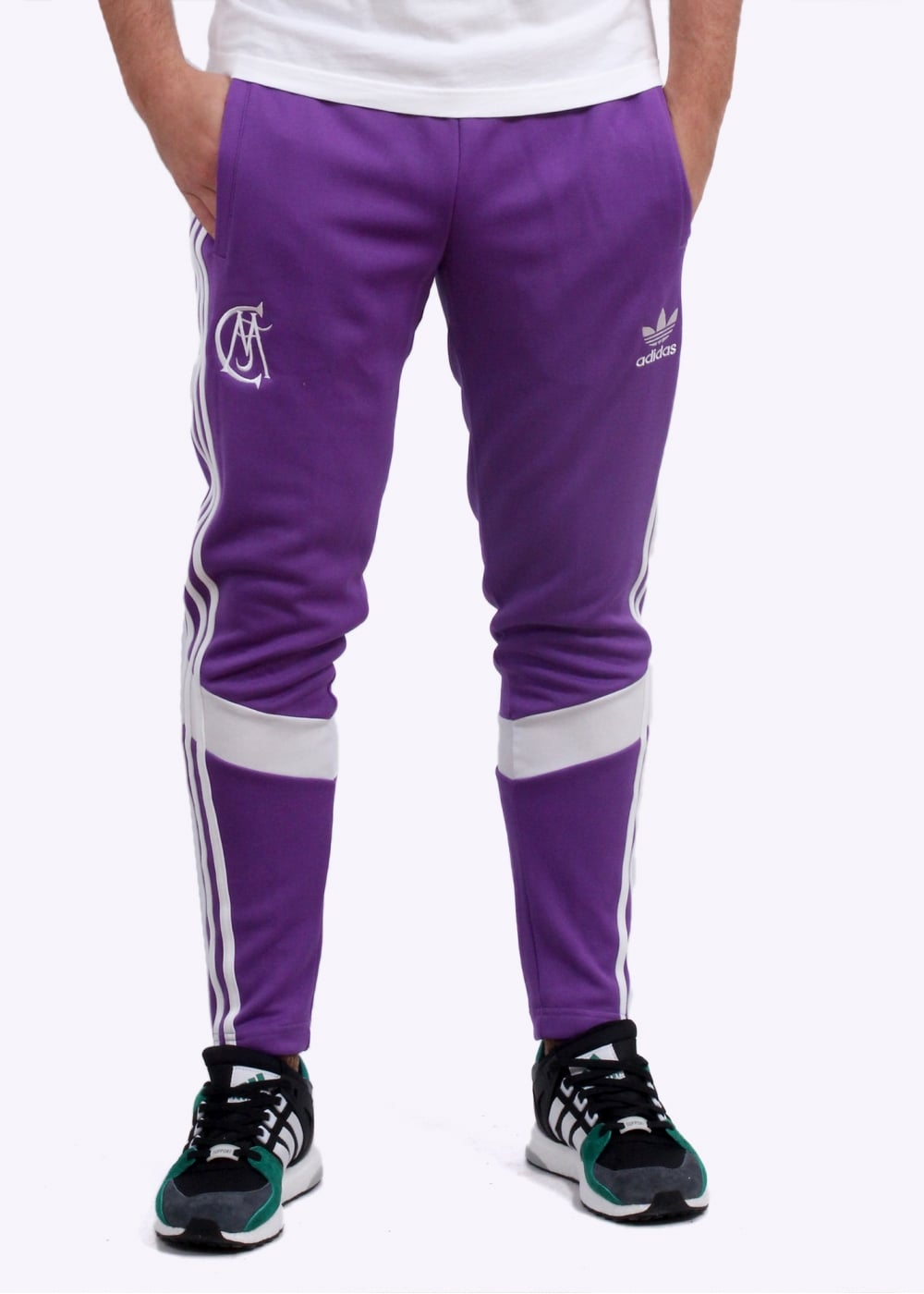 7dcf2eeba3c0 adidas Originals Apparel Real Madrid Track Pants - Purple ...
